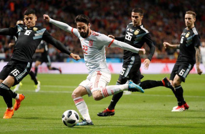España vs Argentina Partido Completo | Amistoso 27-03-2018