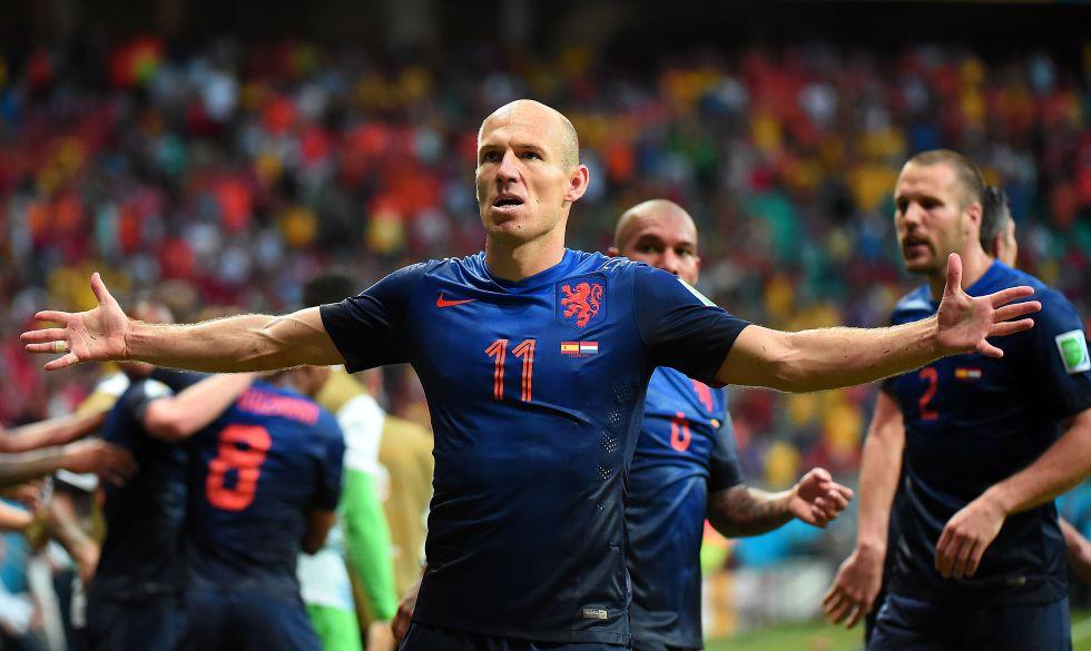 España vs Holanda Partido Completo | Mundial Brasil 2014