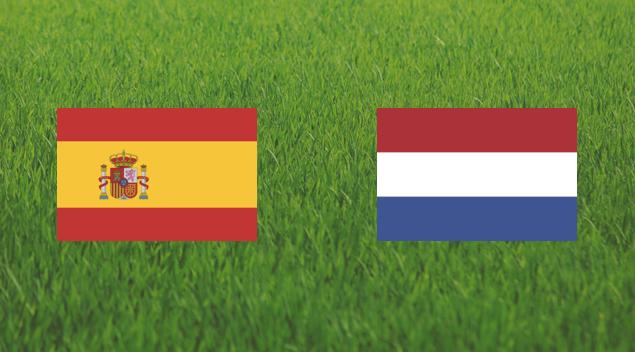 España contra Holanda Mundial Brasil 2014 - Partido Completo