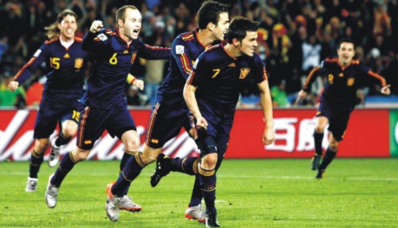 Paraguay vs España Partido Completo Mundial 2010 Cuartos