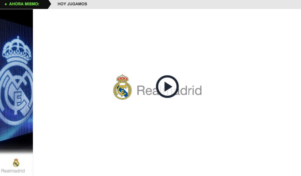 Ver Partido Real Madrid Hoy Online Gratis