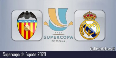 Valencia vs Real Madrid - Partido Completo en Diferido Supercopa