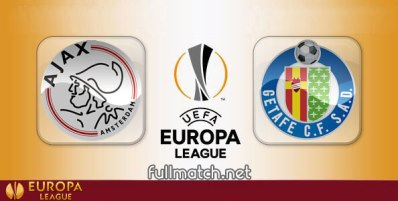 Ajax vs Getafe - Partido Completo en Diferido
