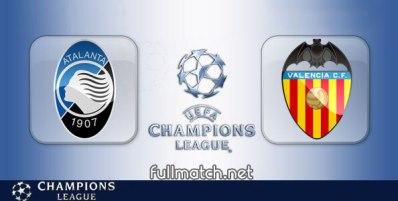 Atalanta vs Valencia - Partido Completo en Diferido