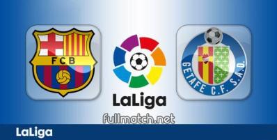 Barcelona vs Getafe - Partido Completo en Diferido