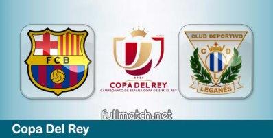Barcelona vs Leganes - Partido Completo en Diferido