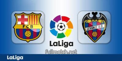 Barcelona vs Levante - Partido Completo en Diferido