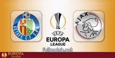 Getafe vs Ajax - Partido Completo en Diferido