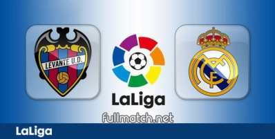 Levante vs Real Madrid - Partido Completo en Diferido