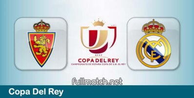 Real Zaragoza vs Real Madrid - Partido Completo en Diferido