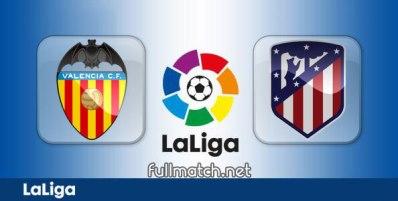 Valencia vs Atletico Madrid - Partido Completo en Diferido